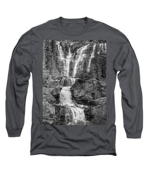 Icefields Waterfall Long Sleeve T-Shirt