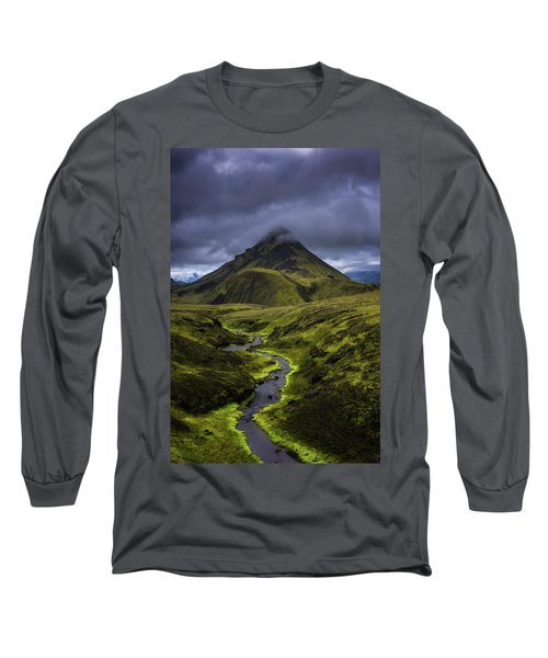 Icelandic Highlands Long Sleeve T-Shirt