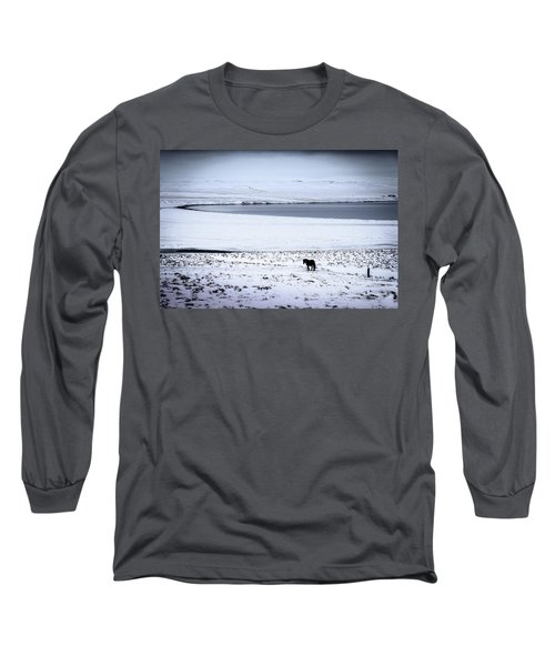 Icelandic Horse Long Sleeve T-Shirt