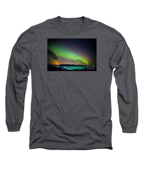 Icelandic Lights  Long Sleeve T-Shirt