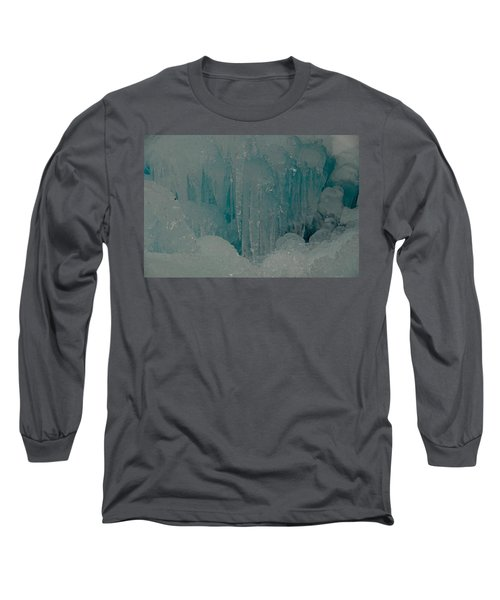 Icicle Blue Beauty Long Sleeve T-Shirt