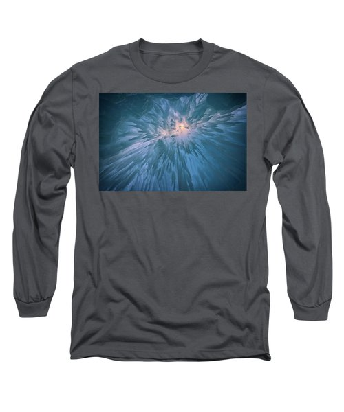 Long Sleeve T-Shirt featuring the photograph Icicles by Rick Berk