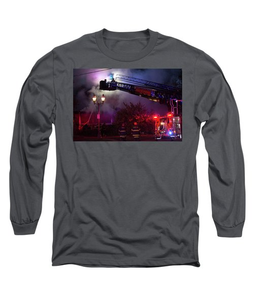 Ict - Burning Long Sleeve T-Shirt