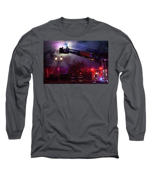 Ict - Burning Long Sleeve T-Shirt