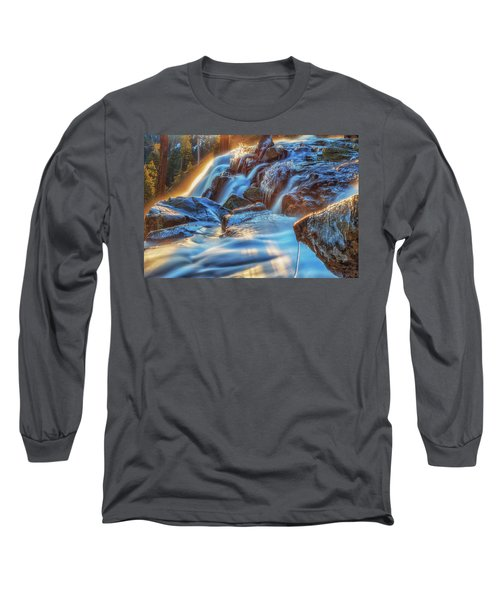 Icy Eagle Falls Long Sleeve T-Shirt