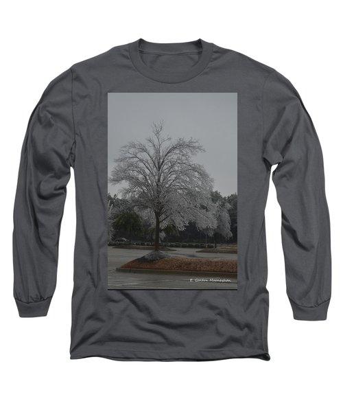 Icy Tree Long Sleeve T-Shirt