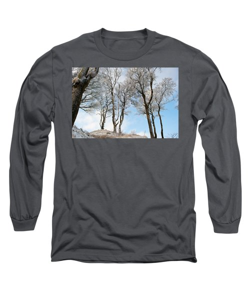 Icy Trees Long Sleeve T-Shirt