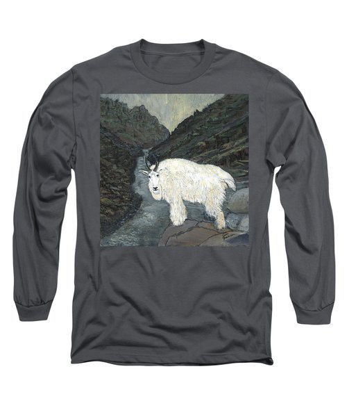 Idaho Mountain Goat Long Sleeve T-Shirt