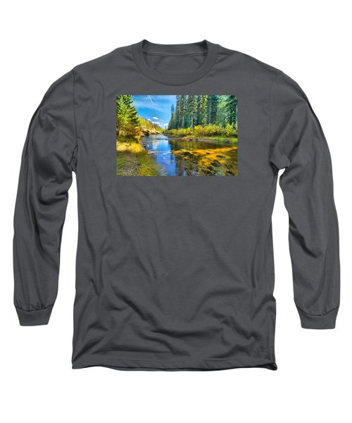 Idaho Stream 2 Long Sleeve T-Shirt