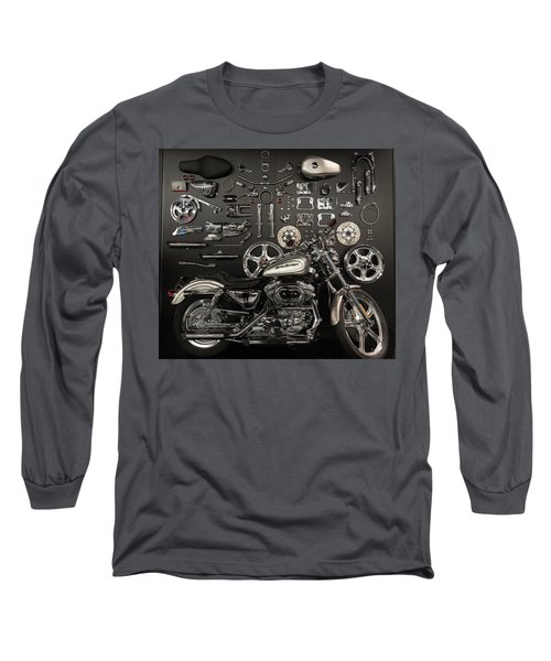 Long Sleeve T-Shirt featuring the photograph If Bling Is Your Thing by Randy Scherkenbach