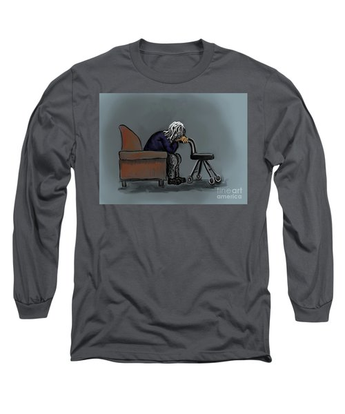 Ignored Long Sleeve T-Shirt by Dawn Senior-Trask