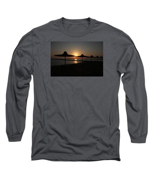 Long Sleeve T-Shirt featuring the photograph I'll Meander  by Jez C Self