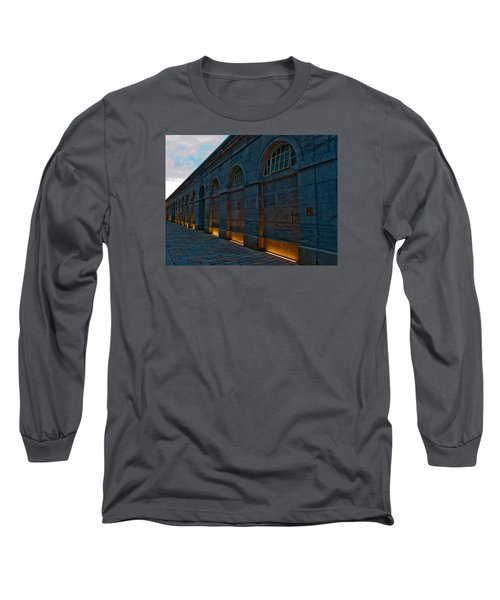 Illuminated Arches Long Sleeve T-Shirt by Helen Northcott