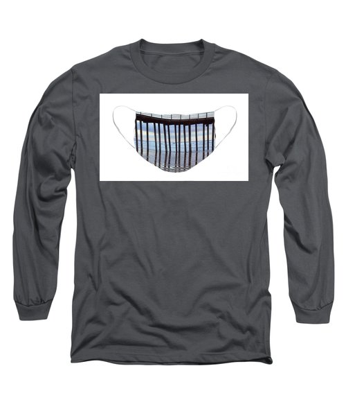 Illusion Of Ocean Movement Long Sleeve T-Shirt