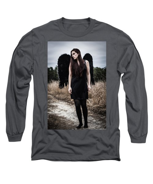 Long Sleeve T-Shirt featuring the photograph I'm No Angel by Brian Hughes