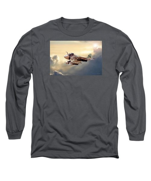 Impending Intrusion Long Sleeve T-Shirt by Peter Chilelli
