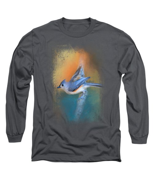 In A Flash Long Sleeve T-Shirt by Jai Johnson
