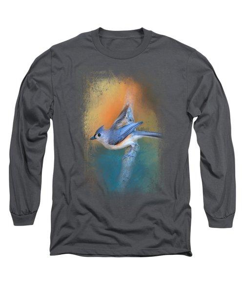 In A Flash Long Sleeve T-Shirt by Jai Johnson