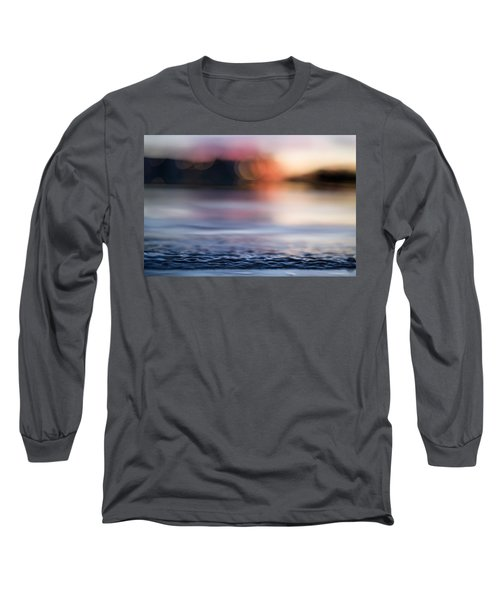 Long Sleeve T-Shirt featuring the photograph In-between Days by Laura Fasulo