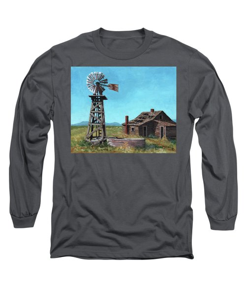 In Days Past Long Sleeve T-Shirt