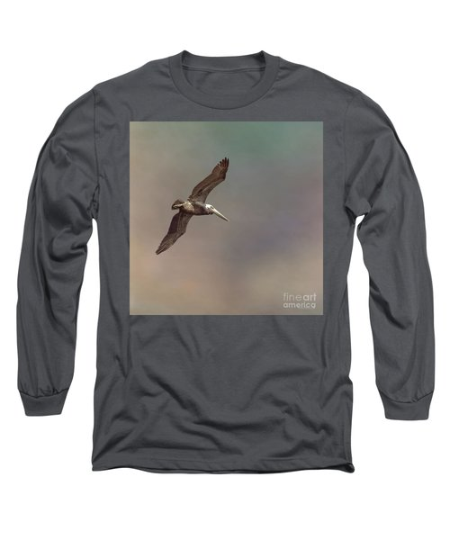 In Flight 2 Long Sleeve T-Shirt by Phil Mancuso