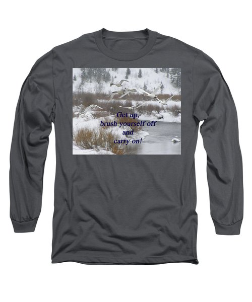 In Flight Carry On Long Sleeve T-Shirt
