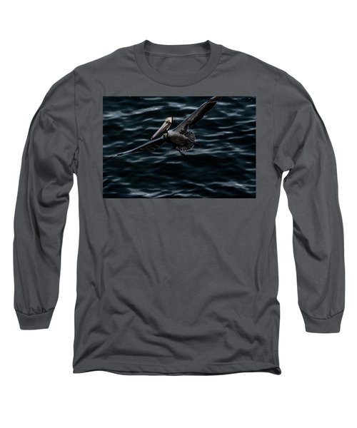 In-flight Long Sleeve T-Shirt by James David Phenicie
