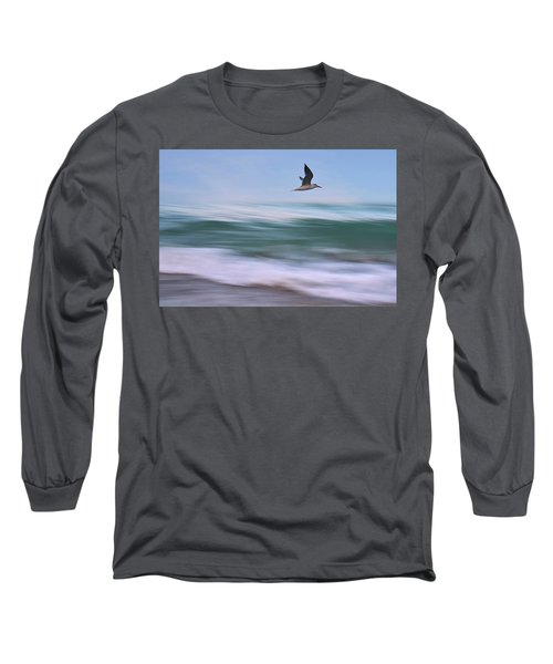 In Flight Long Sleeve T-Shirt by Laura Fasulo