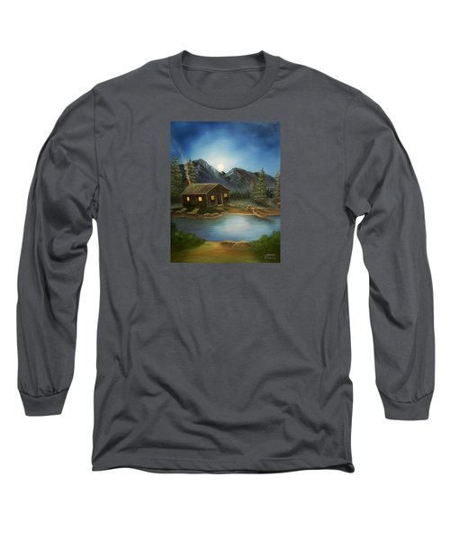 In For The Night Long Sleeve T-Shirt by Sheri Keith