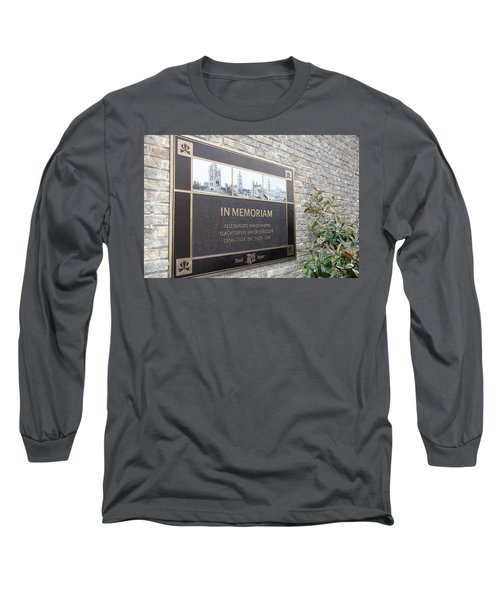 In Memoriam - Ypres Long Sleeve T-Shirt