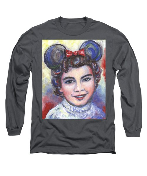 In Memory Of Annette Funicello Long Sleeve T-Shirt