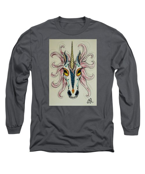 In Memory Of The Long Lost Unicorn Long Sleeve T-Shirt