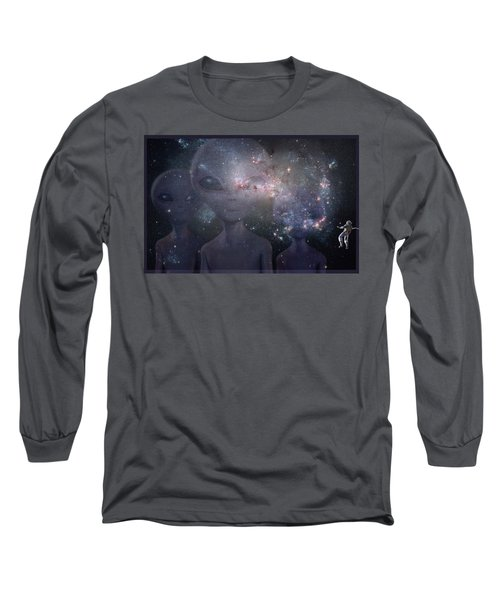In Space Long Sleeve T-Shirt by Thomas M Pikolin