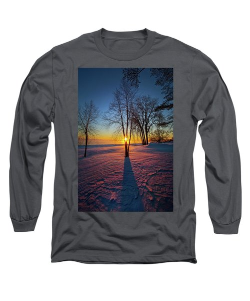 Long Sleeve T-Shirt featuring the photograph In That Still Place by Phil Koch