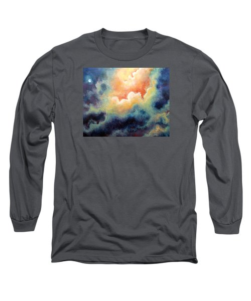 In The Beginning Long Sleeve T-Shirt by Marina Petro
