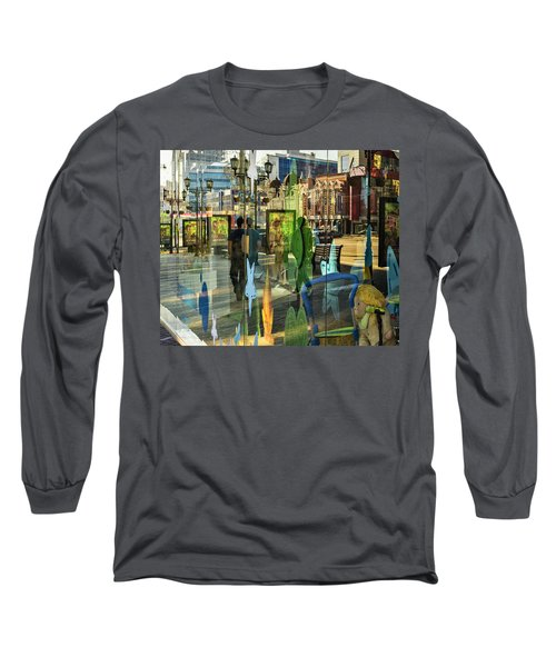 Long Sleeve T-Shirt featuring the photograph In The City by Vladimir Kholostykh