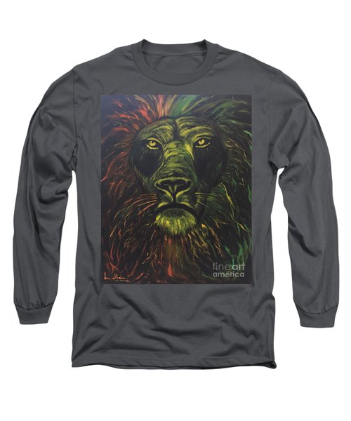 In The Dark Long Sleeve T-Shirt by Brindha Naveen