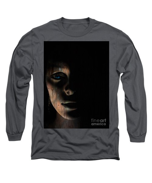 Long Sleeve T-Shirt featuring the photograph In The Dark by Trena Mara