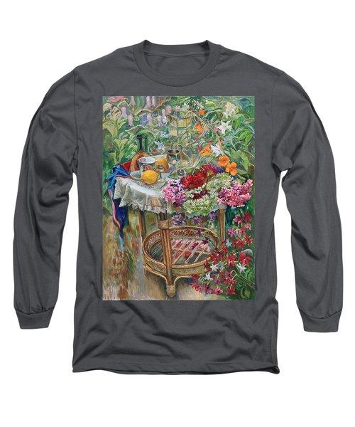 In The Garden Long Sleeve T-Shirt
