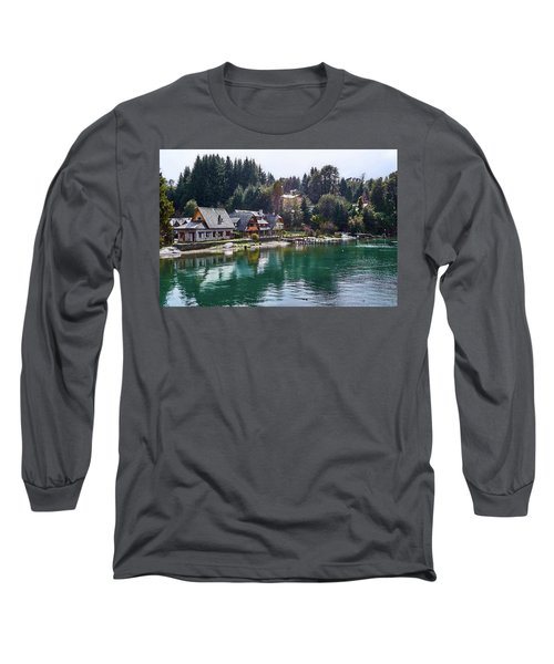 Rustic Museum In The Argentine Patagonia Long Sleeve T-Shirt