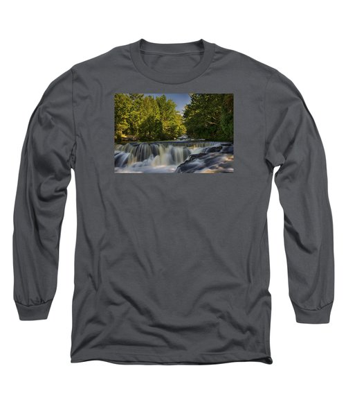 In The Middle Of The Middle Branch Long Sleeve T-Shirt by Dan Hefle
