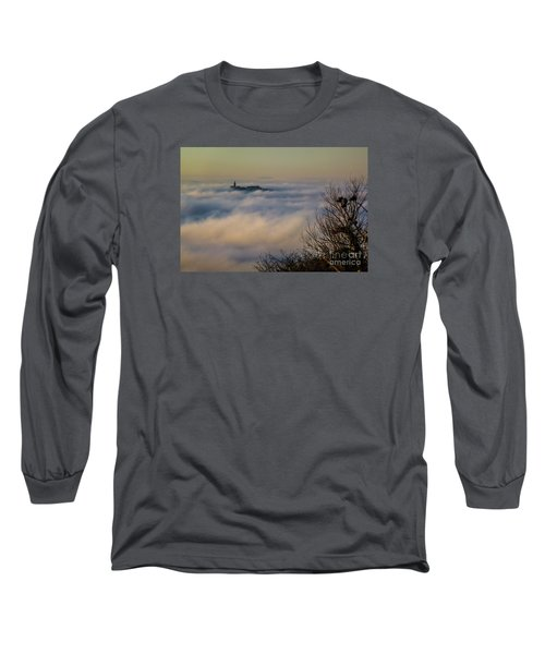 In The Mist 1 Long Sleeve T-Shirt by Jean Bernard Roussilhe