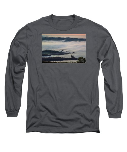 In The Mist 2 Long Sleeve T-Shirt by Jean Bernard Roussilhe