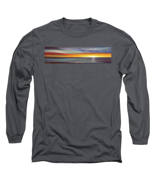 In The Moment Panoramic Sunset Long Sleeve T-Shirt