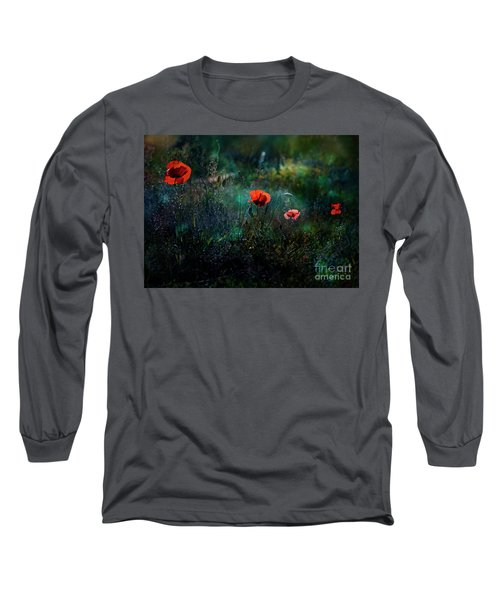 In The Morning Long Sleeve T-Shirt by Agnieszka Mlicka