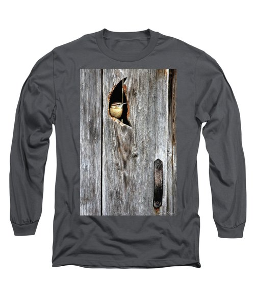 In The Outhouse Shed Long Sleeve T-Shirt