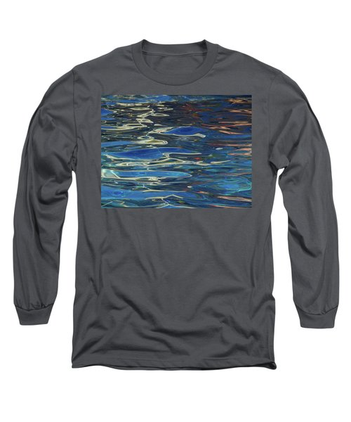 In The Pool Long Sleeve T-Shirt by Evelyn Tambour