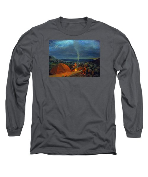 In The Spotlight Long Sleeve T-Shirt by Donna Tucker