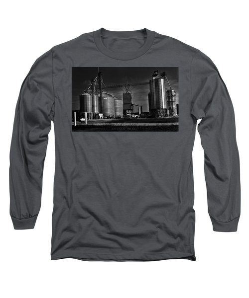 In The Still- Black And White Long Sleeve T-Shirt