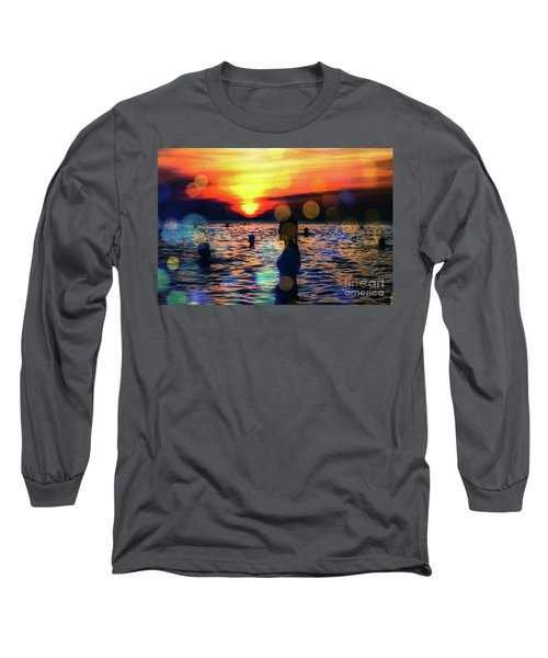 In The Water Long Sleeve T-Shirt